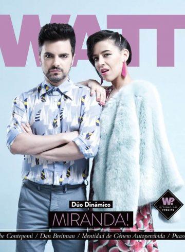 Tapa Revista Watt 98
