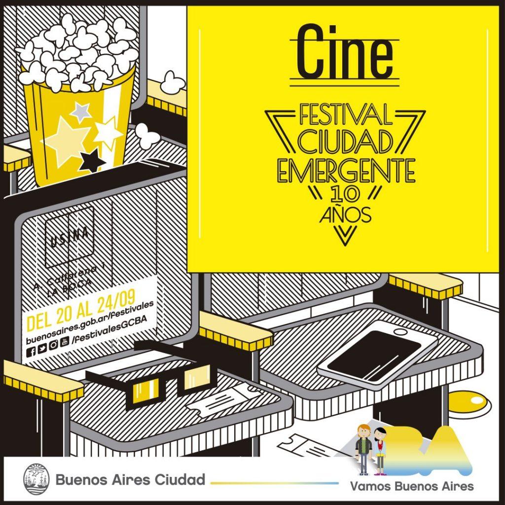 CIUDAD EMERGENTE 10 AÑOS FESTIVAL CINE