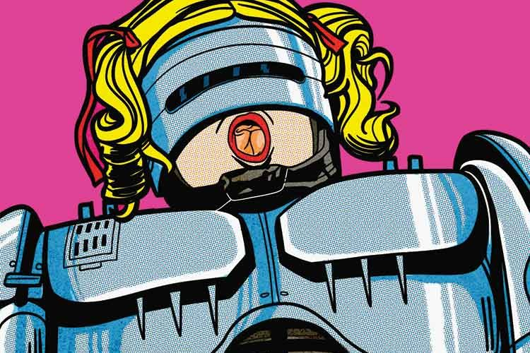 Ilustración de Robocop