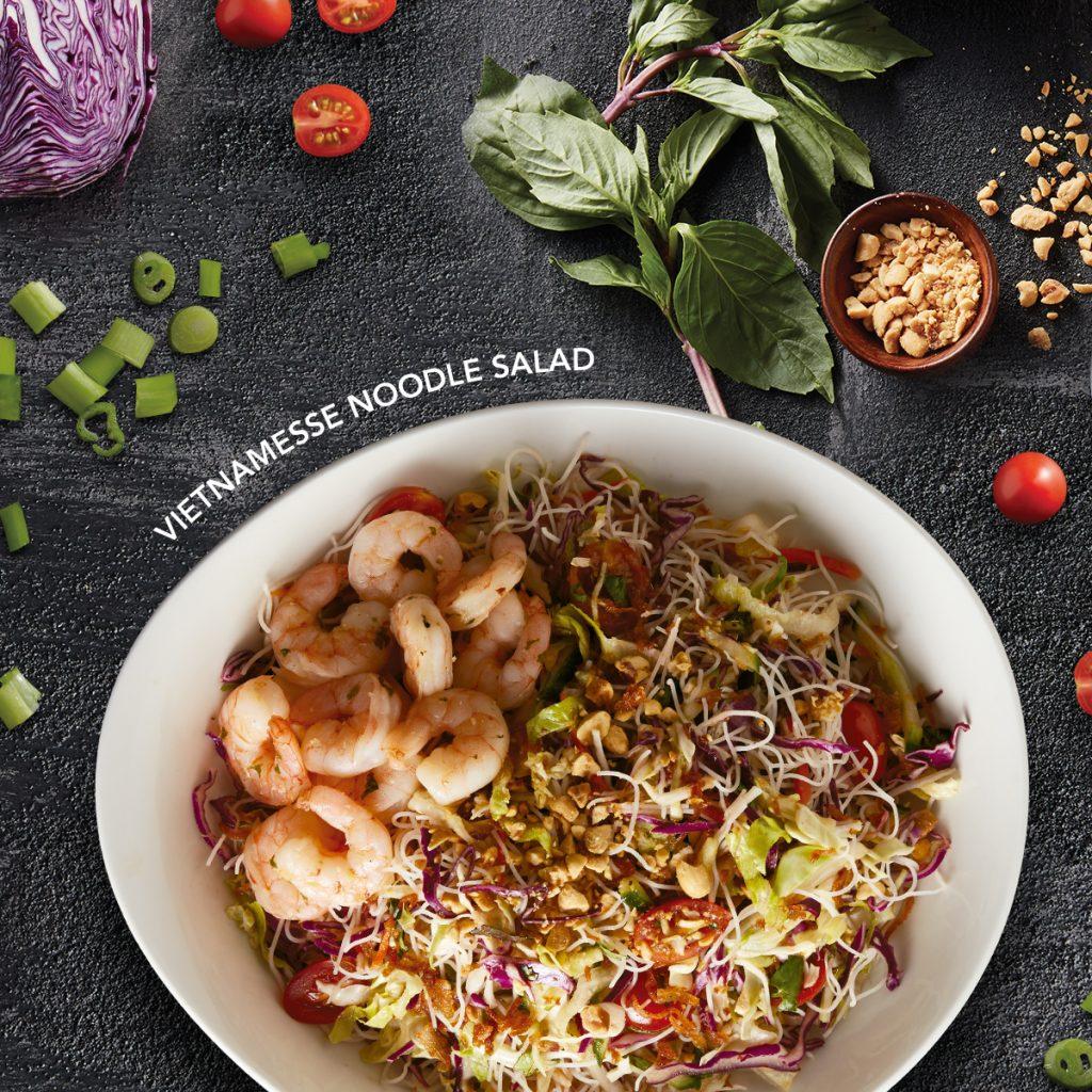 Vietnamesse noodle salad